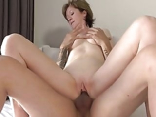 Shy French divorced teacher amateur