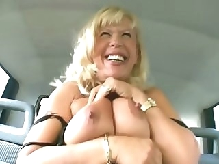 Granny goes for a ride - Sascha Production mature