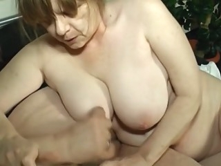 Mom having fun bbw