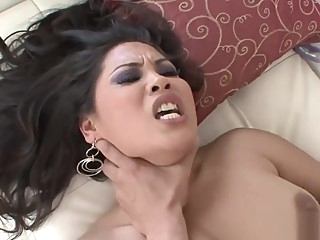 Gorgeous Jessica Bangkok is always up for banging asian
