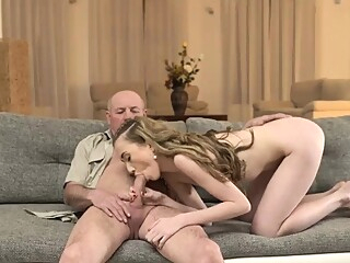 First anal and cum in mouth Russian Language Power blonde