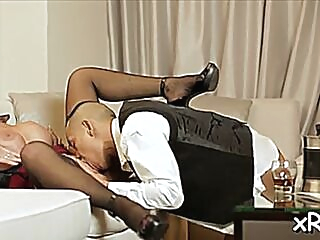 Adorable deauxma desires deep penetration blowjob