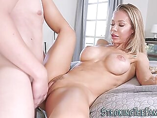 Milf stepmom creampied ass