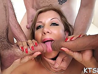 Naughty naomi chi adores hardcore anal sex anal