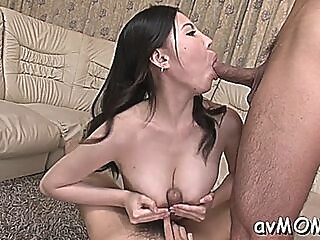 Voluptuous mature gal sofia takigawa gets nailed hard blowjob