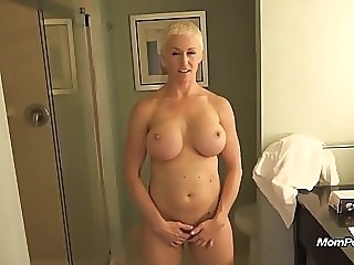 Busty MILF is a total freak mature