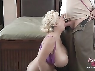 Claudia Marie Gets Her Fake Tits Put Back In! milf