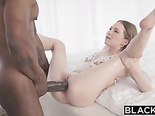 BLACKED Petite blonde with the biggest bbc in the world big dick