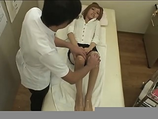 Foot massage(censored) japanese
