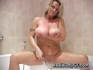 Big jiggy tits milf showering part6 amateur