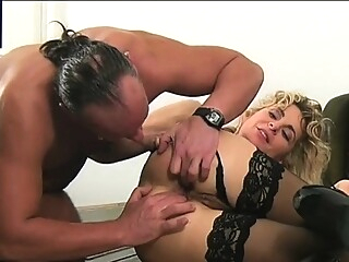 Hot young blonde bride has hardcore anal anal