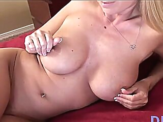 Stick sucking followed by foxy mature lady fuck big tits