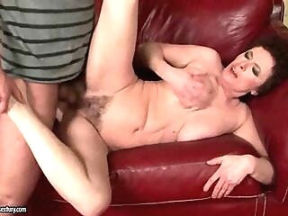 Grandmas and Young Men Hot Fuck Compilation blowjob